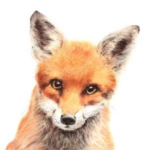 Fox cub 6 for sale at The Darryl Nantais Gallery